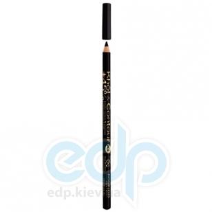 Карандаш для глаз устойчивый Bourjoice - 16H Khol & Contour 67 XL Ultra Black - 1.14g
