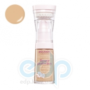 Крем тональный для лица выравнивающий Bourjois - Flower Perfection SPF15 №54 Beige/Бежевый - 30ml