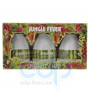 Mades Cosmetics - Jungle Fever с ароматом амазонских трав - Набор (гель для душа 100 ml+крем для душа 100 ml+лосьон для тела 100 ml)