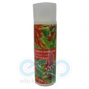 Mades Cosmetics - Крем для душа Exotic Body Care питательный с экстрактами алое вера и ягод годжи - 250 ml