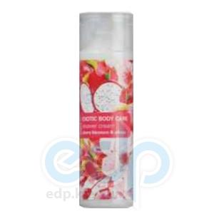 Mades Cosmetics - Крем для душа Exotic Body Care питательный с экстрактами питайи и вишни - 250 ml