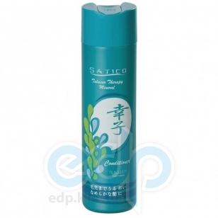 Satico - Кондиционер-уход для всех типов волос питающий, увлажняющий с экстрактами морских водорослей и минералами Satico Talasso Therapy Mineral Conditioner - 300 ml