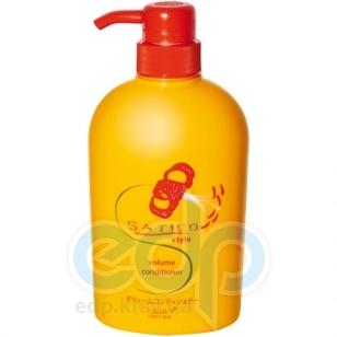 Satico - Кондиционер для тонких и ослабленных волос, восстанавливающий с эффектом увеличения объема и придания блеска волосам Satico Style Volume Conditioner Head Spa - 500 ml
