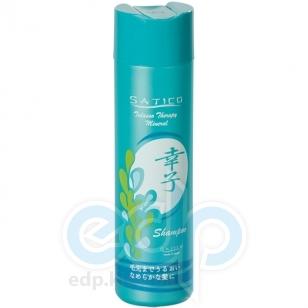 Satico - Шампунь-уход для всех типов волос волос, увлажняющий, питательный с экстрактами морских водорослей и минералами Satico Talasso Therapy Mineral Shampoo - 300 ml