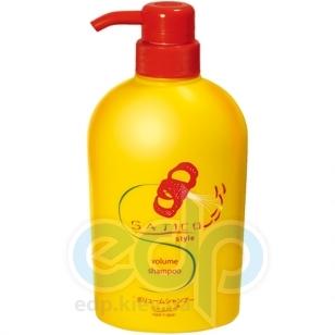 Satico - Шампунь для ослабленных волос восстанавливающий с эффектом увеличения объема и придания блеска волосам Satico style Volume Shampoo Head SPA - 500 ml