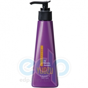 Satico - Шампунь для всех типов волос, тонизирующий для активного ежедневного ухода с экстрактом японского мандарина юдзу и аминокислотами Satico Yudzu DU Reviving Shampoo - 185 ml