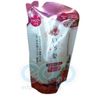 Kanebo Шампунь для поврежденных волос, разглаживающий с ароматом горной сакуры - Ichikami - 360 ml (KN 72085)
