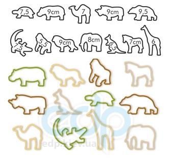 Tescoma - Delicia Kids формочки Zoo 12 штук (арт. 630930)