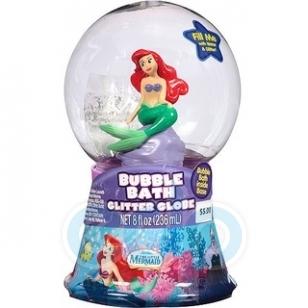 Disney - Гель-пена для душа Snow Globe Ariel 3D - 250 ml