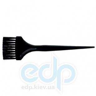 3ME Maestri - Кисть для окрашивания волос с нейлоновой щетиной с насечками Hair Colour Brushes шириной 5.5 cm. Длина кисти: 21.5 cm.