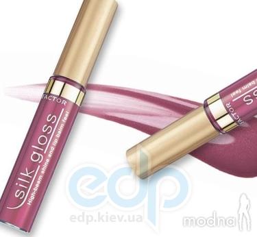 Max Factor - Блеск для губ Silk Gloss №305 Burgundy Balm/Бургундский Бальзам