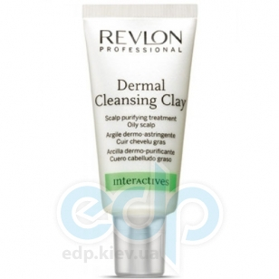 Revlon Professional - Dermal Cleansing Clay Глина для кожи головы - 15 х 18 ml