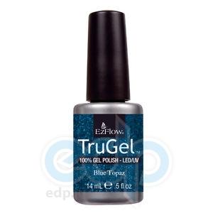 EzFlow - Гель-лак TruGel Blue Topaz № 423 синий перламутр - 14 ml