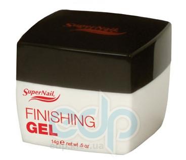 SuperNail (esn) - Прозрачный закрепляющий гель Finishing Gel - 14 g