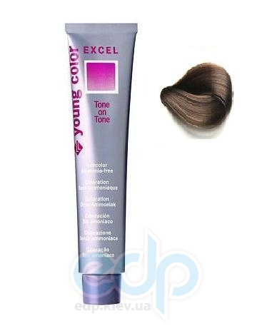 Краска для волос Revlon Professional - Young Color Excel №6.21 Candied Glace Chesnut/Сияющий Карамельно-Каштановый - 70 g