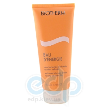 Biotherm -  Eau DEnergie Perfumed Shower Cream Velvety-Smooth Skin -  200 ml