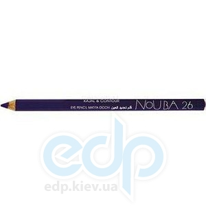Контурный карандаш для глаз NoUBA -  Kajal and Contour Eye Pencil №26