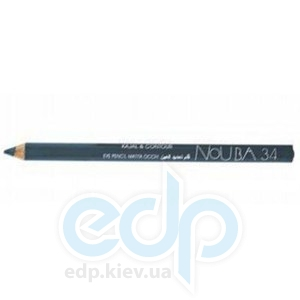 Контурный карандаш для глаз NoUBA -  Kajal and Contour Eye Pencil №34