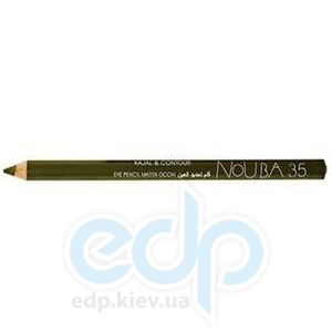 Контурный карандаш для глаз NoUBA -  Kajal and Contour Eye Pencil №35