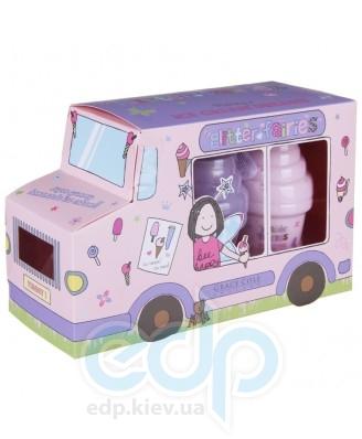 Grace Cole - Набор для тела Honey's Ice Cream Dreams (гель для душа 100 ml + лосьон для тела 100 ml + мочалка)