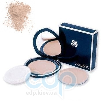 Пудра для лица Chambor -  Silver Shadow Compact Powder №03 Песочный