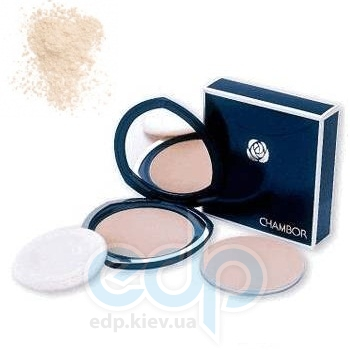 Пудра для лица Chambor -  Silver Shadow Compact Powder №04 Ocre