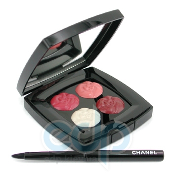 Палитра губных помад Chanel -  Exclusive Creation 4 Camelias De Chanel Limited Edition