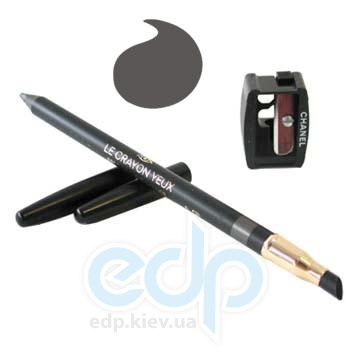 Карандаш для глаз Chanel -  Make Up Crayon Yeux №61 Silver Latest Colour/Темно-Серый