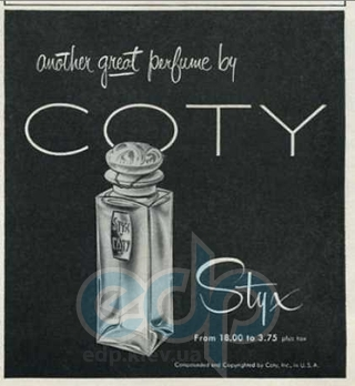 Coty Styx For Women - духи - 7.5 ml