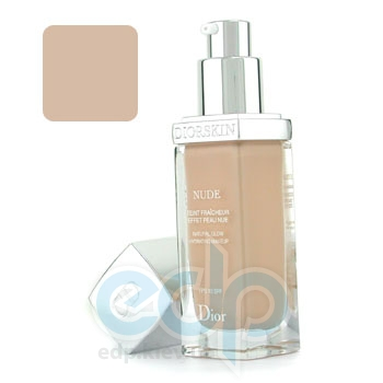Крем тональный Christian Dior -  Diorskin Nude Natural Glow Hydrating Make-Up Spf10 №010 Ivory