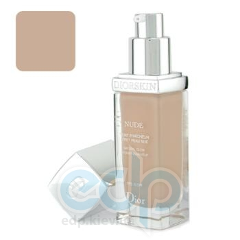 Крем тональный Christian Dior -  Diorskin Nude Natural Glow Hydrating Make-Up Spf10 №020 Light Beige
