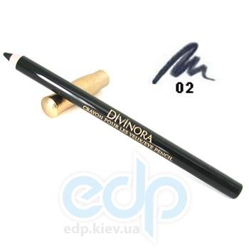 Карандаш для век Guerlain -  Divinora Crayon Pour Les Yeux №02