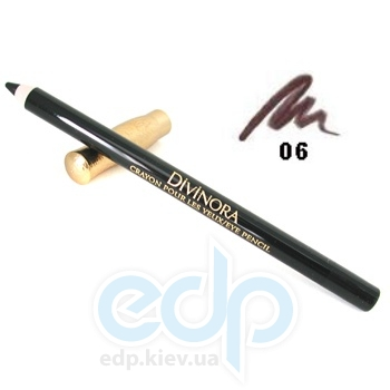 Карандаш для век Guerlain -  Divinora Crayon Pour Les Yeux №06 Prune