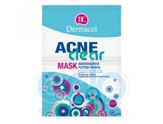 Dermacol Маска стягивающая для жирной, комбинированной и проблемной кожи, склонной к акне AcneClear - 16 ml (15964)