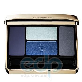 Тени для век Guerlain -  Ecrin 4 Couleurs Long Lasting Eyeshadows №02 Les Bleus