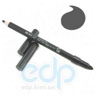Карандаш контурный для век Shiseido - Smoothing Eyeliner Pencil  №BK 901 Black