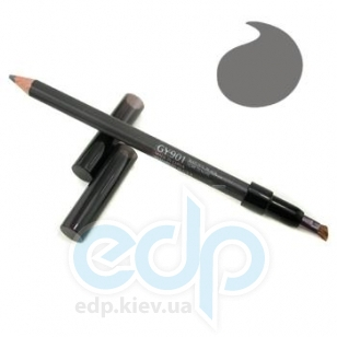 Карандаш контурный для бровей Shiseido - Natural Eyebrow Pencil №GY 901 Natural Black/Натуральный черный