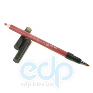 Карандаш для губ Shiseido - Smoothing Lip Pencil №RD 708 Mahogany