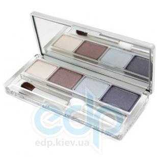 Тени для век 4-цветные компактные Clinique - Colour Surge Eye Shadow Quad №105 Polar Blue