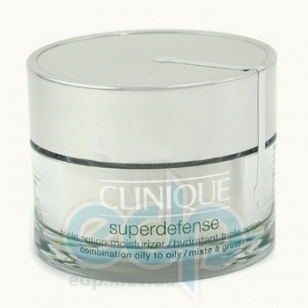 Clinique -  Face Care Superdefense Triple Action Moisturizer SPF 25 -  50 ml  (для комбинированной и жирной кожи)
