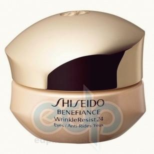 Shiseido -  Eye Care Benefiance Wrinkle Resist 24 Intensive Eye Contour Cream - 15ml