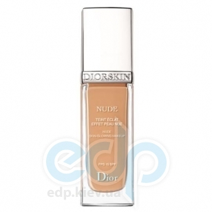 Крем тональный Christian Dior -  Diorskin Nude Skin-Glowing Make-up SPF15 №040 Honey Beige