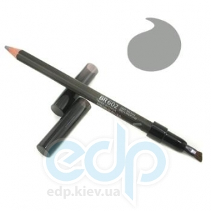 Карандаш контурный для бровей Shiseido - Natural Eyebrow Pencil №BR 602 Deep Brown / Насыщенный коричневый