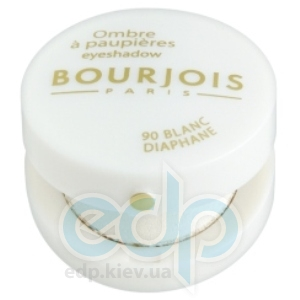 Тени для век Bourjois -  Eyeshadow №90 Blanc Diaphane/Прозрачно-Белый
