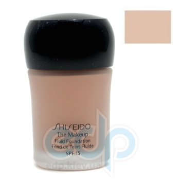 Тональный крем Shiseido -  Fluid Foundation №B60 Natural Deep Beige