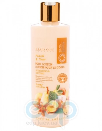 Grace Cole - Лосьон для тела Body Lotion Peach & Pear - 500 ml