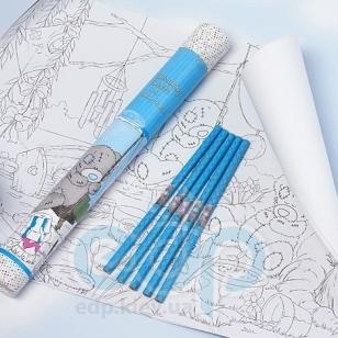 Teddy MTY (мишки) Набор для раскраски MTY (Me To You) (3 раскраски формата А3 + разноцветные карандаши 5шт) (арт. G01S0261)