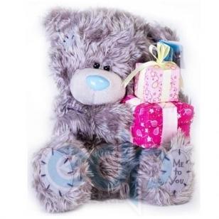 Teddy MTY (мишки) Игрушка плюшевый мишка MTY (Me To You) -  с подарками Happy Birthday 25cм (арт. G01W0251)