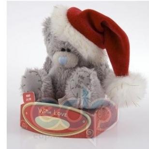 Teddy MTY (мишки) Игрушка плюшевая MTY (Me To You) -  медвежонок Дед Мороз 7.5 см (арт. G01W0298)