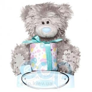Teddy MTY (мишки) Игрушка плюшевый мишка MTY (Me To You) -  с подарком Happy Birthday 15 см (арт. G01W1028)